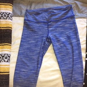 Work Out Leggings; Blue 90 Degree by reflex